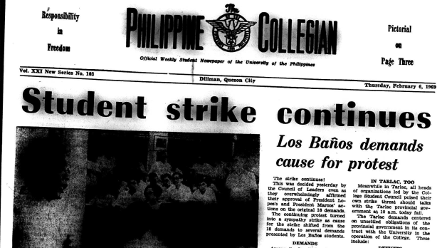 Lessons of the 1969 Student Strikes in the Philippines